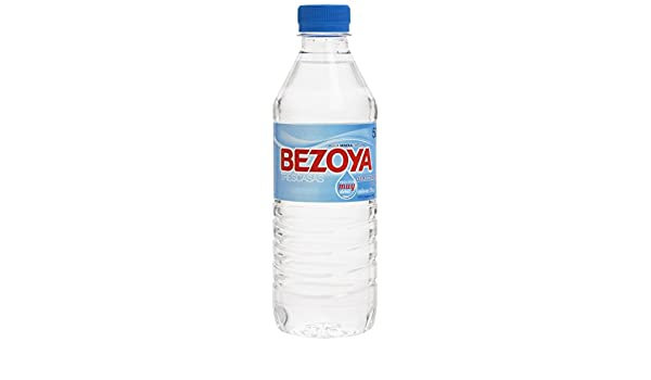 Bezoya Agua Mineral Natural Botella 50cl: Amazon.es: Alimentación ...