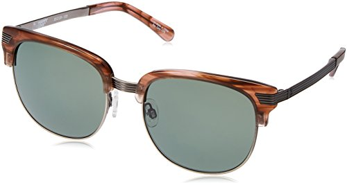 Spy Bleecker Sunglasses - Happy Lens Pink Smoke - Happy Gray Green, One Size by Spy