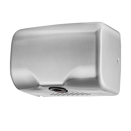 - Commercial Hand Dryer,High Speed Automatic Electric Hand Dryers For Bathrooms or Restrooms,Heavy Duty,Hot/Cold Air,Stainless Steel 304 Cover,Surface Mount,Innovative Compact Design,Easy Installation