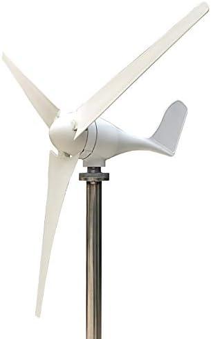 400W 12V風力タービン発電機3ブレードキットハイブリッド風力発電機コントローラ風力タービン発電機20Aのハイブリッド充電コントローラホームパワー