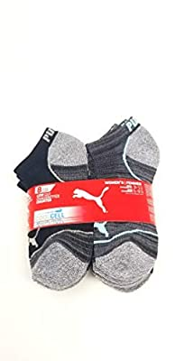 Puma No Show Women's Socks, Moisture Control Mesh Ventilation (8 Pair) (Hot Pink, Turquoise, Grey)