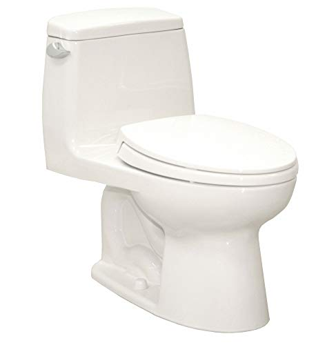 Flush Gallon Cotton 1.6 - One Piece Tank Toilet, 1.6 Gallons per Flush, Cotton