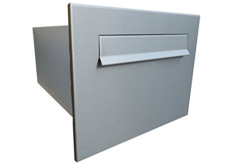 Large Stainless Steel Through The Wall Letterbox B-24 DOLS