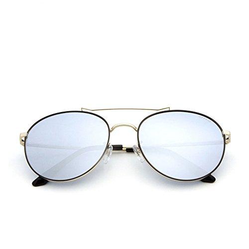 Gafas libre La antideslumbrante antivibratorias Gafas de luz conducir es de con gafas de de gafas aire y para sol completa para al adecuada sol montura muje polarizadas sol conducir para Silver polarizadas 4ZrqTnxw4S