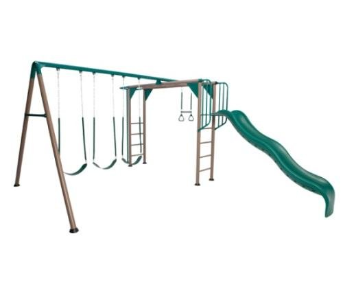 Lifetime Monkey Bar Adventure Swing Set Competitive Edge Products
