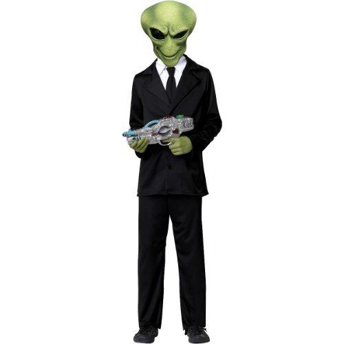 California Costumes Alien Agent Child Costume, X-Large -