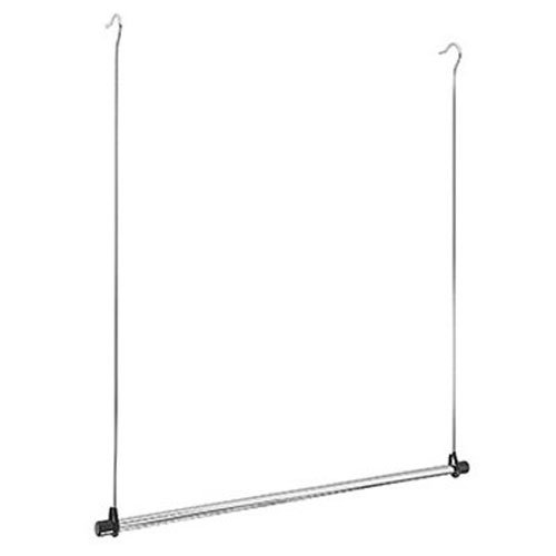 Whitmor Double Rod Closet Extender, - Rod Closet Chrome Double