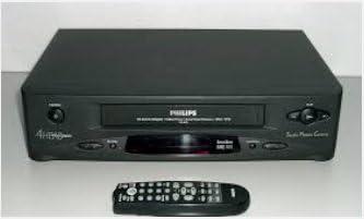 /Reproductor de v/ídeo VHS Philips VR 600/4/
