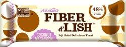 Nugo Nutrition Bar Fiber Dlish Coconut Macaroon Bars, 1.6 Ounce by NuGo