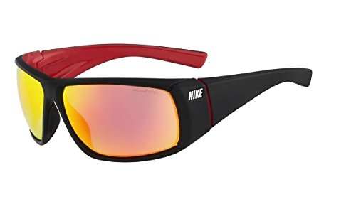 Nike Vision Wrapstar - Lunettes - rouge/noir 2014