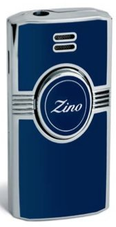 Zino Jetflame Lighter - Dark Blue by Davidoff