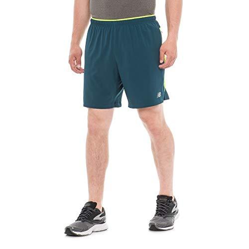 きらめく円形消える(ニューバランス) New Balance メンズ ランニング?ウォーキング ボトムス?パンツ Impact Running Shorts - Built-In Lining [並行輸入品]