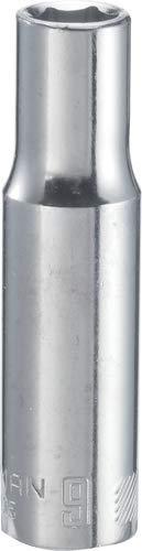 9 Mm Deep Socket - CRAFTSMAN Deep Socket, Metric, 3/8-Inch Drive, 9mm, 6-Point (CMMT44425)