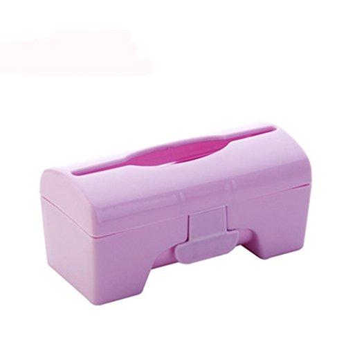 Drip Gravy (Ikevan Storage Boxes Bins Plastic Wall-mounted Garbage Bag Storage Box (Smal) (Light Purple))
