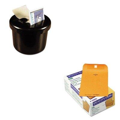 KITLEE40100QUA43055 - Value Kit - Quality Park Park Ridge Kraft Clasp Envelope (QUA43055) and Lee Ultimate Stamp Dispenser (LEE40100)