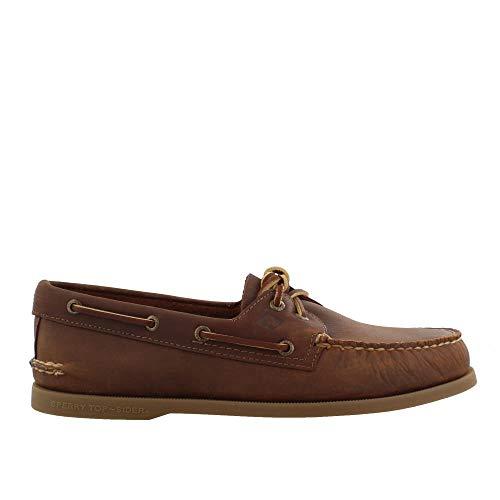 (Sperry Men's Authentic Original Richtown Boat Shoe, Brown, 12 M)