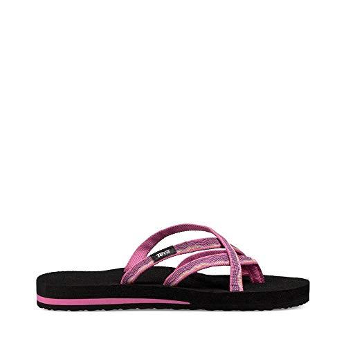 Teva Women's W Olowahu Flip-Flop, vida Raspberry, 10 M US (Sandals Mesh Teva)
