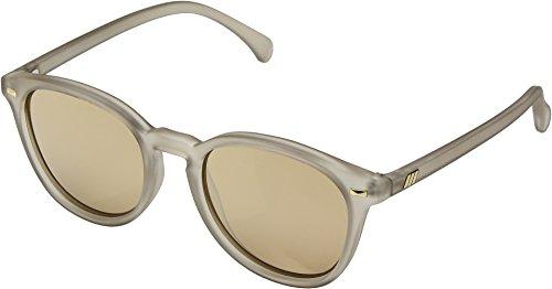 Le Specs Women's Bandwagon Sunglasses, Matte Stone/Copper Revo, Bronze, Tan, One ()