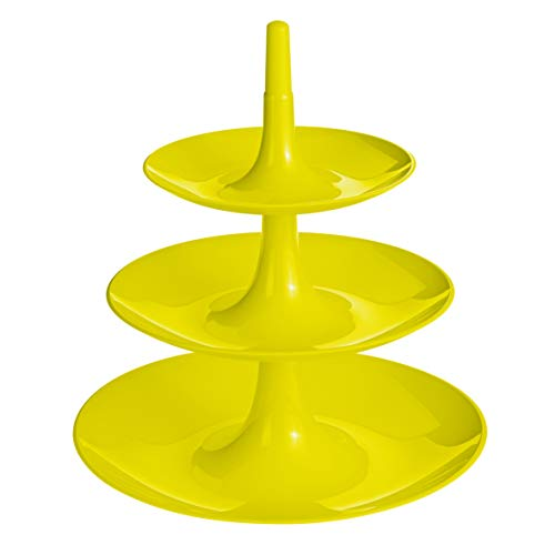 Koziol 3180582 Large Babell Etagere, Solid Mustard Green by Koziol (Image #3)