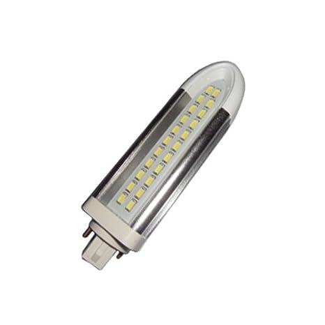 Bombilla PL LED 12W G24d de 2 Pin de Luz cálida 3000K 1200Lm.: Amazon.es: Iluminación