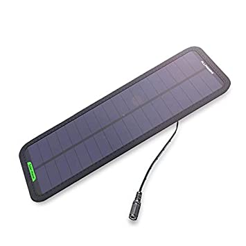 Amazon com: Comprajunta Solar Panel 5W, Car Battery Charger