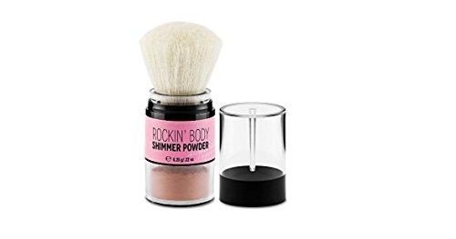 (Victoria's Secret Rockin' Body Shimmer Powder, with Brush 6.5g/.22oz.)