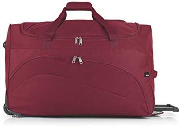 GABOL Bolso Ruedas Week. Bolso de Viaje, 50 cm, 15 litros, Rojo