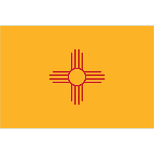 Front Line Flags New Mexico State Flag 3×5 | Heavy Duty | 210D Oxford Nylon | Quadruple Stitched Fly End | Brass Grommets for Easy Display Review