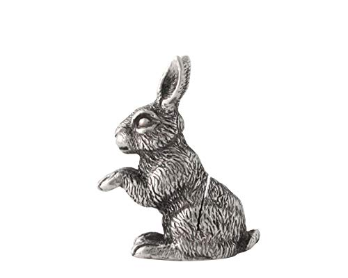 Vagabond House Pewter Rabbit Place Card Holder/Cheese Markers 1