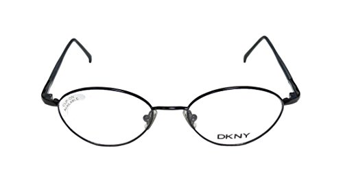 DKNY 6207 WomensLadies Rx Ready Inexpensive Designer Full-rim EyeglassesEye Glasses (45-17-135 Shiny Black)