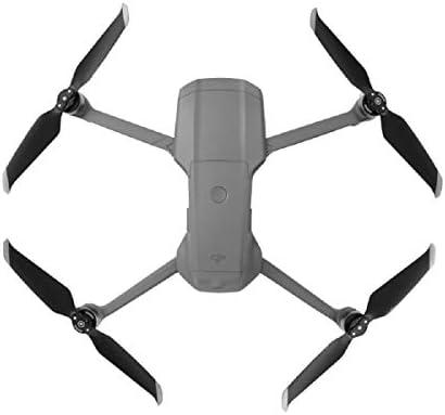 GEEMEE pour DJI Mavic Air 2 Hélices à Faible Bruit, hélice de Rechange Pliable Accessoires de Drone Accessoires à dégagement Rapide Silencieux Silencieux hélice Train d'atterrissage (Argent