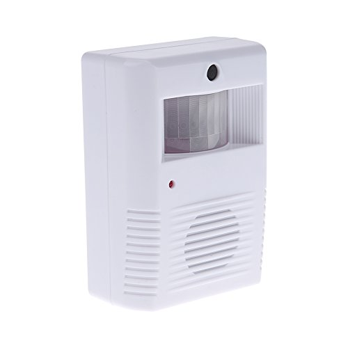 - Whitelotous Wireless Welcome Guest Alarm Chime Infrared PIR Motion Sensor Alarm Entry Door Bell for Shop Store Home