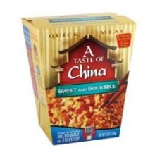 A Taste of China Sweet and Sour Rice, 6-Ounces (Pack of 6) (Discount China Dishes)