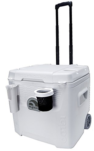 Igloo Marine Ultra Quantum Roller 52 Quart Cooler