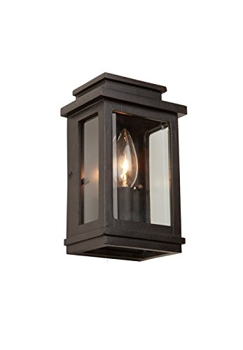 Artcraft Lighting Fremont Outdoor Wall Sconce, Oil Rubbed Bronze Crafts Outdoor Wall