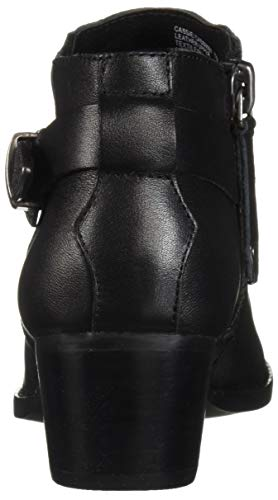 Ankle 6 Madden Women's Leather M Boot Cassie Black Us Steve qvOP1n