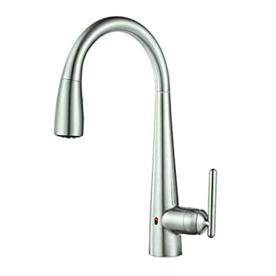 Pfister Lita Single Handle Pull-Down Faucet with React Touch Free Technology