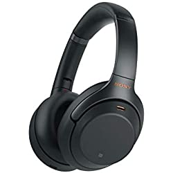 812dbfc4bfb Sony WH1000XM3 Wireless Industry Leading Noise Canceling Over Ear Headphones,  Black (WH-1000XM3