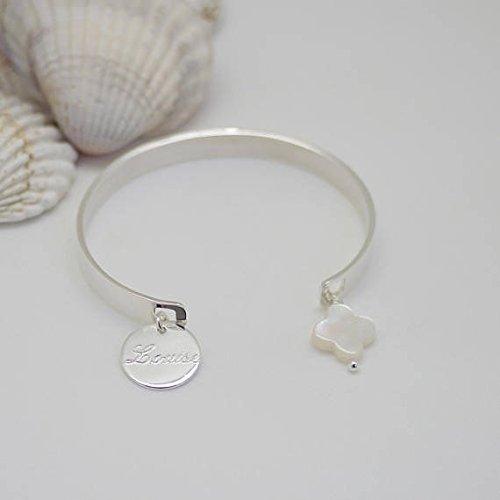 bracelet argent personnalisable
