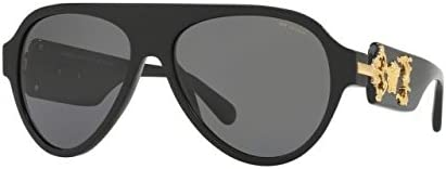 273d8a6b32 Versace Mens Only At Sunglass Hut Sunglasses (VE4323) Black Grey ...