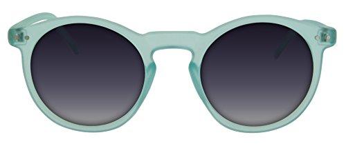 Calgary montura de ahumadas chica o cielo Gafas para semitransparente sol unisex Blue con funda lentes de con incluida en azul cristal Hawaii Con ffXn06