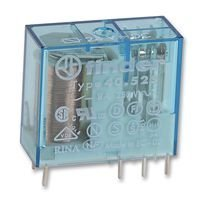 FINDER 40.52.7.024.0000 POWER RELAY DPDT-2CO 24VDC, 8A, PC BOARD (5 pieces)