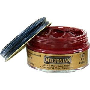 Amazon.com: Meltonian Shoe Cream Polish Colors - 107 - Red: Shoes