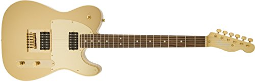 - Squier by Fender J5 Signature Series Telecaster Electric Guitar - Laurel Fingerboard - Frost Gold