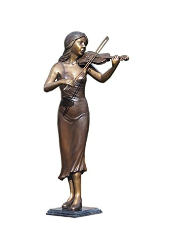 Grave Memorial Sculpture 'Violin-Player'