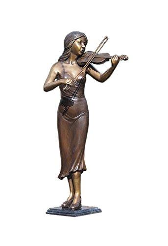 Grave Memorial Sculpture 'Violin-Player' ()
