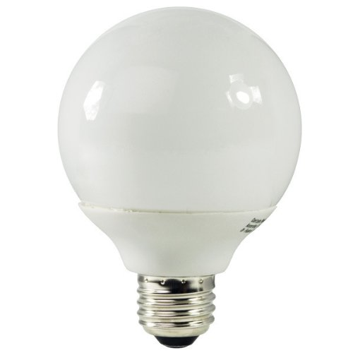 15w G30 Globe (Energy Miser FE-G30A-50K - 15 Watt CFL Light Bulb - Compact Fluorescent - G30 - 60 W Equal - 5000K Full Spectrum - 80 CRI - 53 Lumens per Watt - 15 Month Warranty)