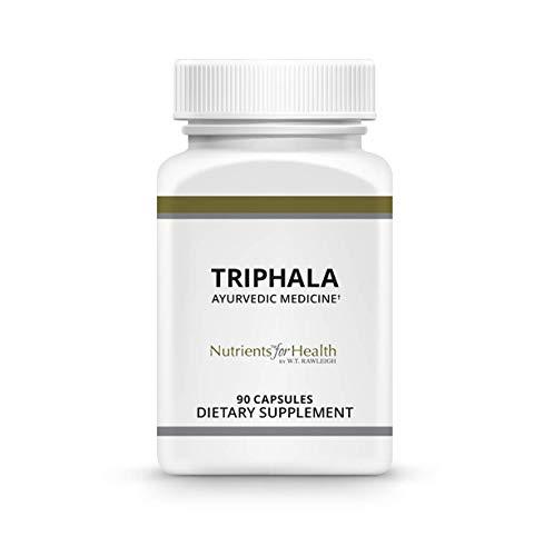 Triphala 500mg - Ayurvedic Herbal Formula - 90 Capsules - Nutrients for Health by Wt Rawleigh