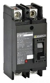 1- SQUARE D QBP22150TM CIRCUIT BREAKER 150 AMP 2 POLE 240V POWERPACT 150A QBP 2P TM STYLE by SQUARE D