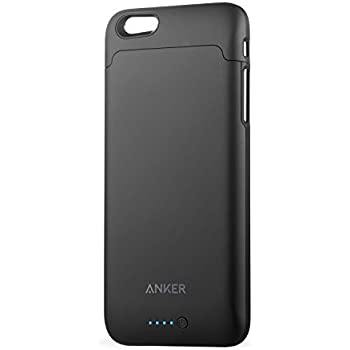 iPhone 6 / 6s Battery Case, Anker Ultra Slim Extended Battery Case for iPhone 6 / 6s (4.7 inch) with 2850mAh Capacity / 120% Extra Battery [Apple MFi Certified] (Black)
